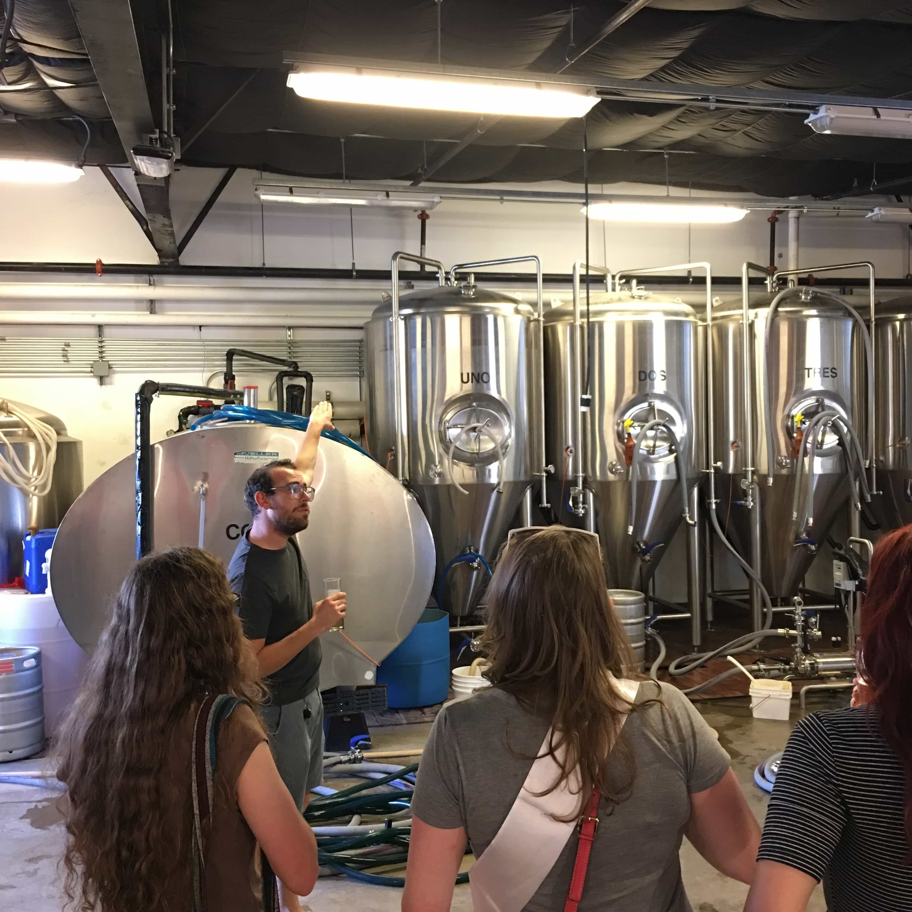 brewery tour preparation
